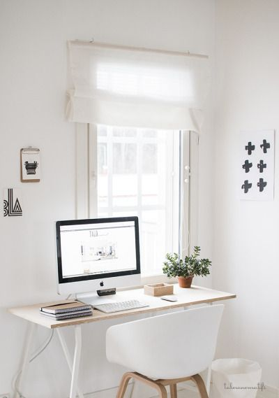 Cool Minimalist Office Desk Model To Increase Work Productivity