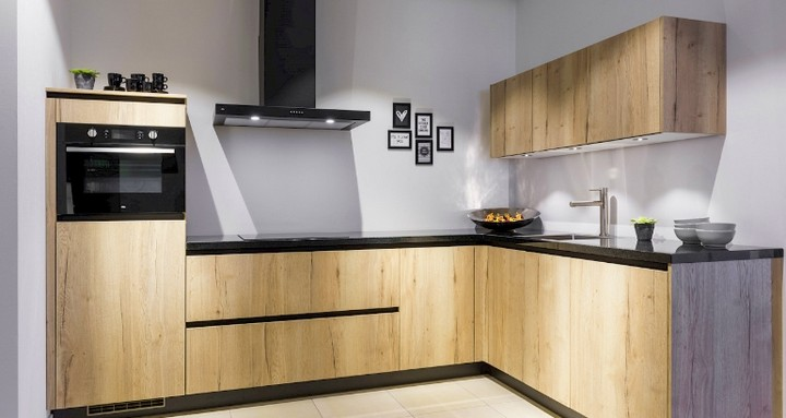 Hanging Kitchen Cabinets Designs Of Various Materials, Suitable To Save Space