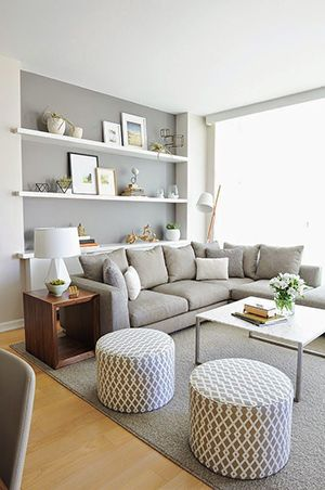 These 10 Steps Make a Small Living Room Look Spacious