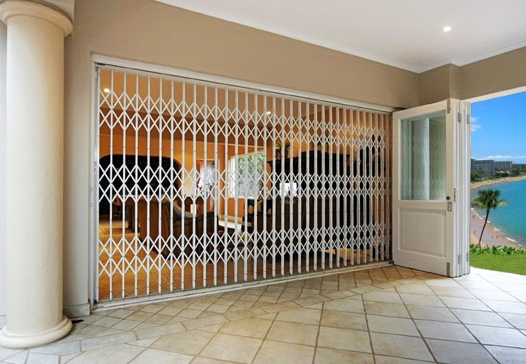 Trellis Door Model Its Not Just Aesthetic But Safety Guaranteed For Your Residence