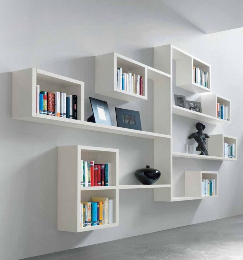 Unique & Creative, Minimalist Bookshelf Design Ideas for Modern Living