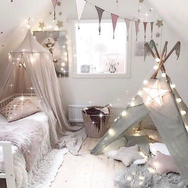 11 Steps To Designing a Girl's Bedroom According to Her Development