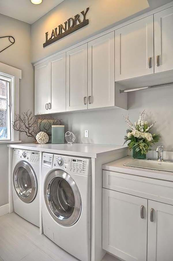 Don't be Underestimated! These Easy Tips to Organize Laundry Room