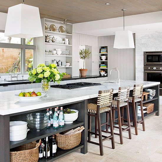 Helping When Cooking, This Are Kitchen Island Function In The Kitchen